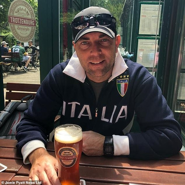 Tragic bank boss Rod Johnston, 46, from Scotland who died after a horror ordeal out at sea off the coast of Cape Town