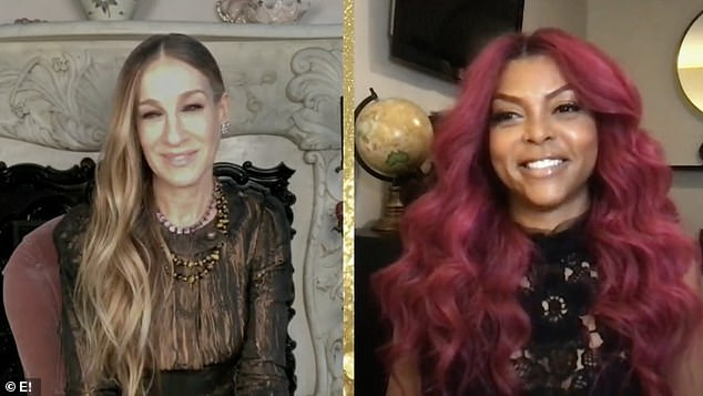 Ready to handle:Sarah Jessica Parker and Taraji P Henson woke up early on Wednesday morning to share the list of the 2021 Golden Globe nominations