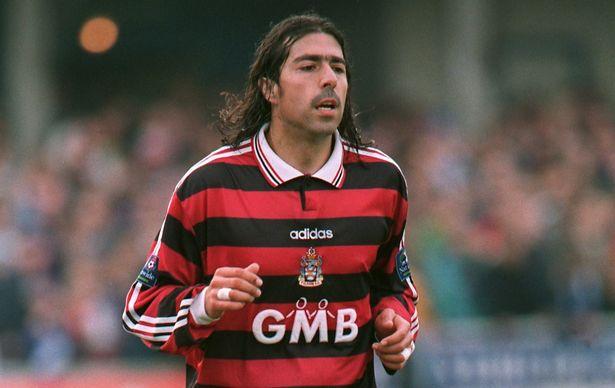 Robbie Herrera joined Fulham from Queens Park Rangers in 1993