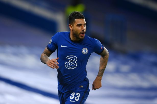 Emerson has struggled for game time ever since joining Chelsea in 2018