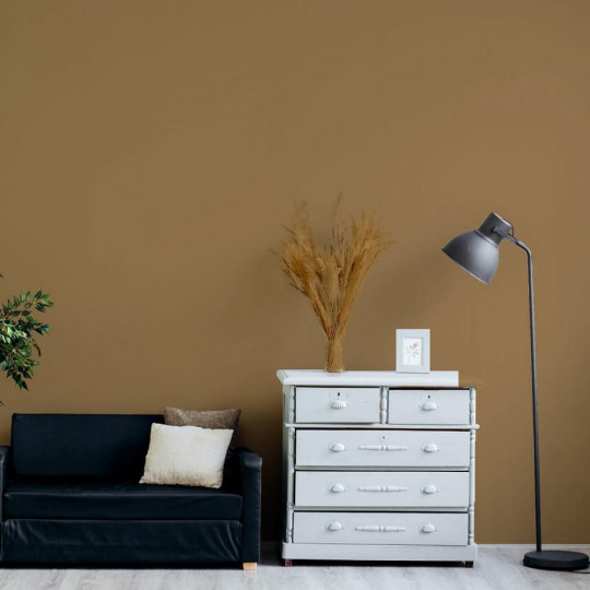 a living room with a neutral coloured wall