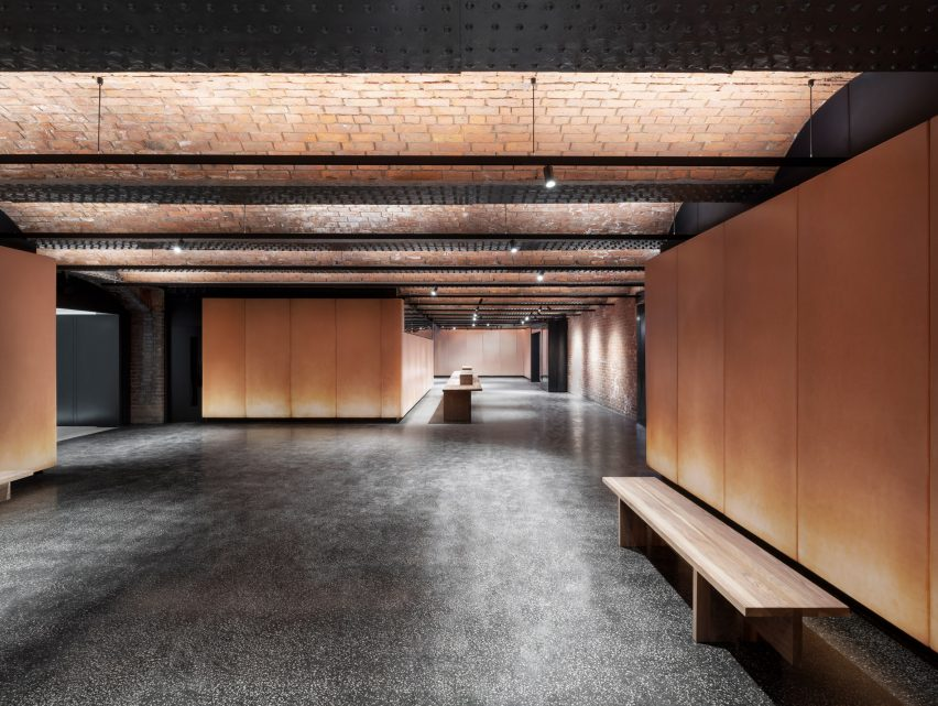 Events space at Manchester museum