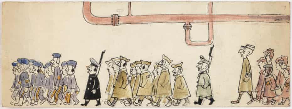 Bil Spira - Drawings from Blechhammer camp