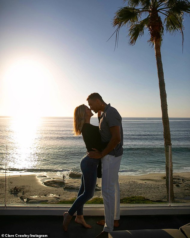 Before the split in Cali:The reality TV stars got engaged on The Bachelorette, stayed together for months then split before getting back together in March of this year