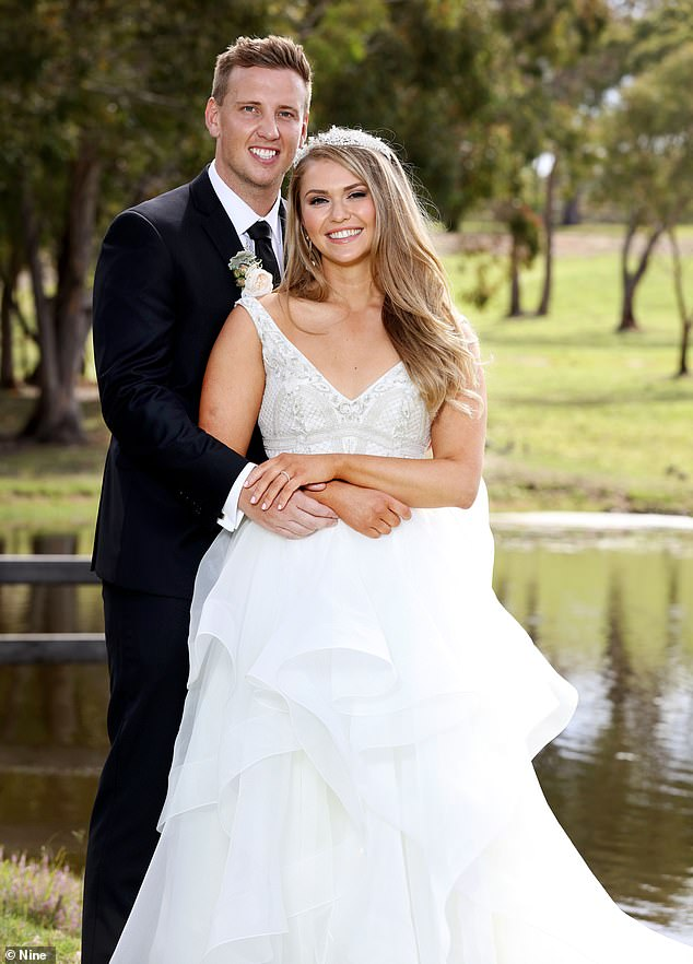 On good terms:Following the leaked video involving the homophobic slur made against him, Liam and 'wife' Georgia Fairweather (pictured), 25, have since 'rekindled' their friendship, despite reportedly deciding to go their separate ways on the show