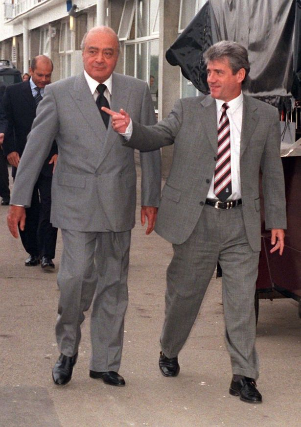 Al-Fayed brought in Kevin Keegan and Ray Wilkins at Fulham