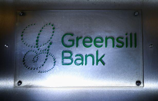 Greensill Bank logo