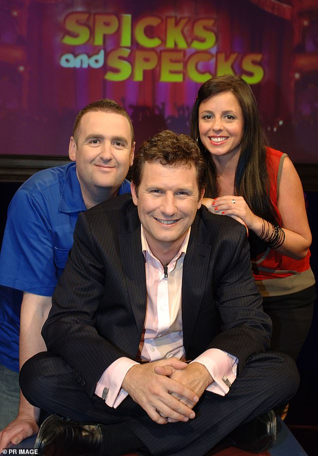 Reboot: Adam will return to the small screen on Spics and Specs.Spics and Specks returns on the ABC on Sunday, 7.40pm. (L) Adam Brough, (R) Myf Warhurst