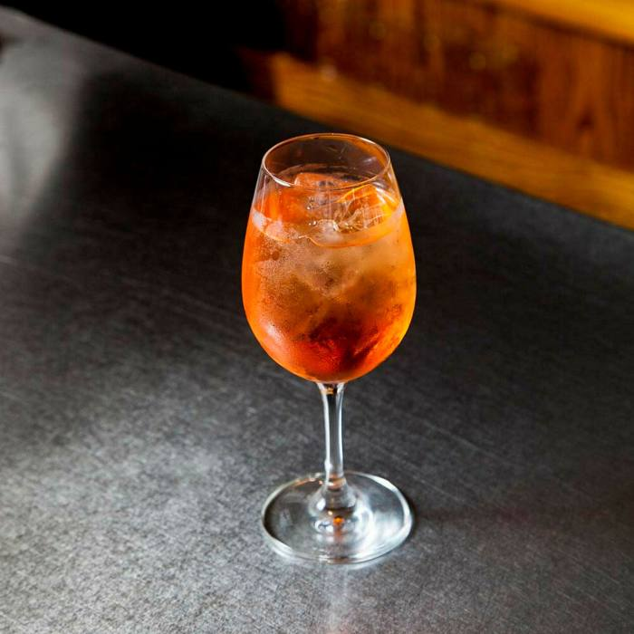 Enjoy a cocktail on a traffic-free Soho street at Bao