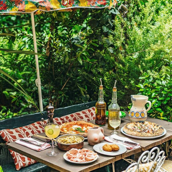 Wash down Circolo Popolare's top-notch antipasti and pizza with a spritz on its 60-seat terrace