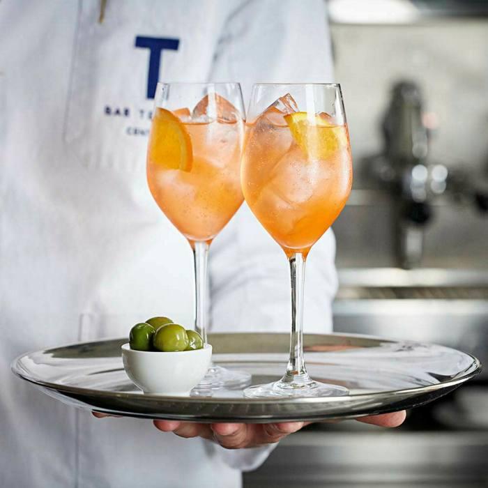 Classic Italian aperitivi are the order of the day at Bar Termini