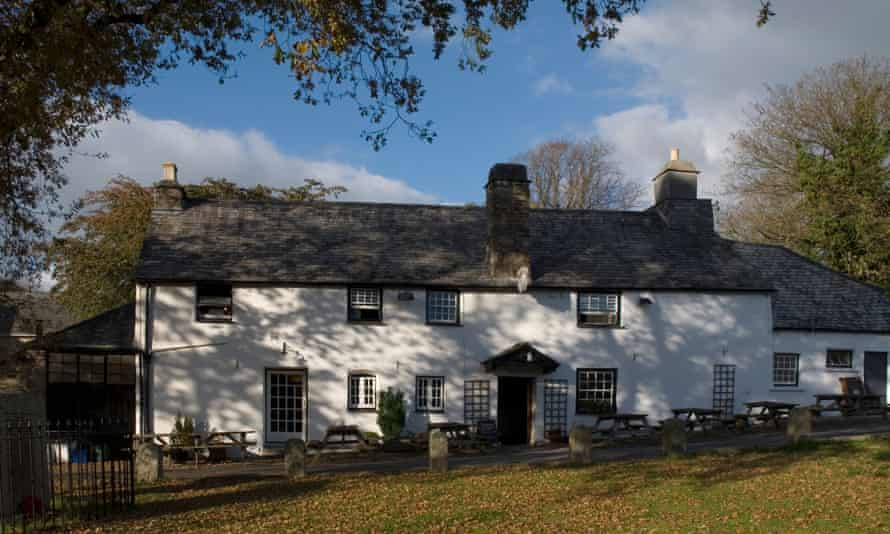15th century Royal Oak Inn Meavy Dartmoor National Park