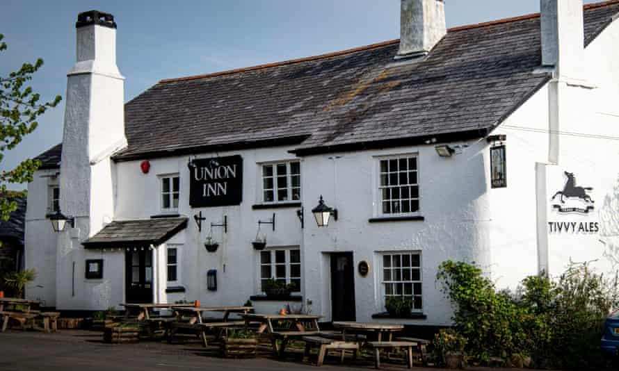Denbury village pub The Union Inn.