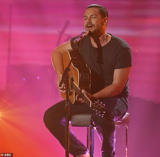 Last in:The last person in the top 16 was Chayce Beckham, 24, a heavy machine operator from Apple Valley, California, who strummed his guitar to Bob Marley & The Wailers' Waiting In Vain