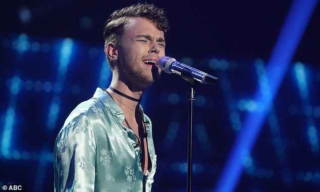 Wedding singer:Beane, 23, a wedding singer from Brighton, Massachusetts, made it through and proved that he could own the stage with Thirdstory's Searching For A Feeling
