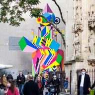 A New Now installation byMorag Myerscoughin Paris