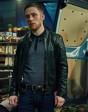 ... pictured as Sean Wallace in the Sky Atlantic drama