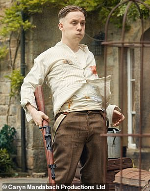 Main man: Peaky Blinders regular Joe Cole takes the lead in Gangs Of London (pictured as John Shelby)