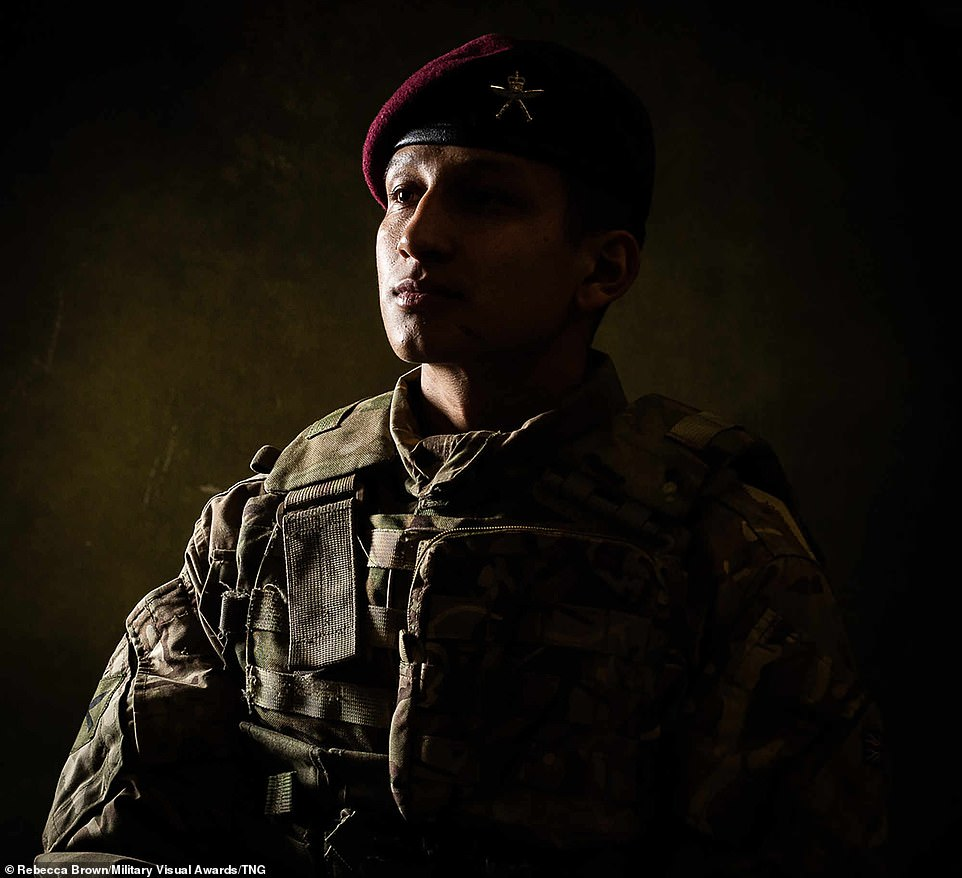 Contributing to the worldwide photography campaign, British photographer Rebecca Brown snapped Gurkha Recruits in Catterick, North Yorkshire, which created an impressive shadowy silhouette