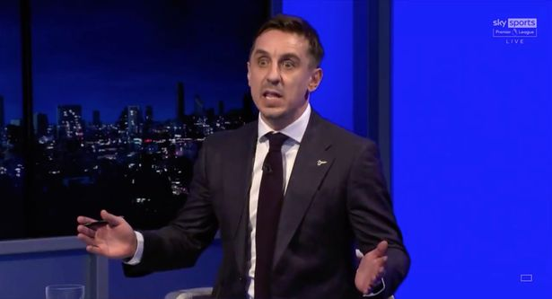 Gary Neville said Tottenham didn't appear to have the desire to come back from behind