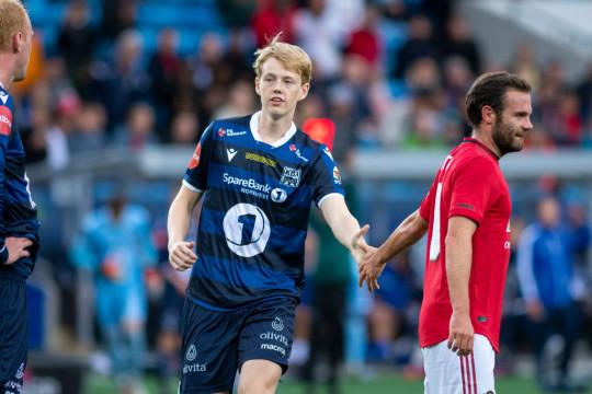 Noah Solskjaer Kristiansund BK v Manchester United - Pre-Season Friendly