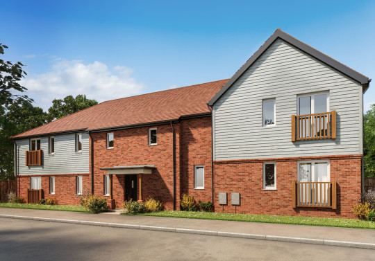 Two-bedroom apartments, Brookfields, Pulborough by Latimer Homes
