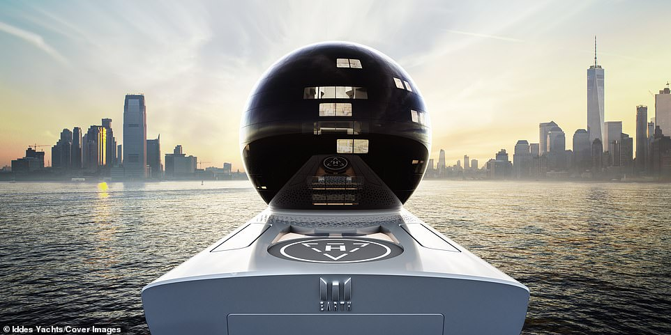 The design phase for the vessel is done, with construction due to begin soon on the massive floating city that will be larger than the Titanic and about the length of three soccer pitches
