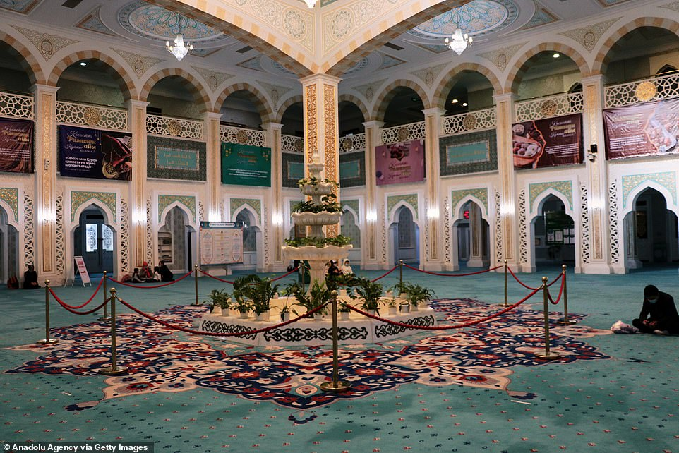2021: Kazakhstan has banned all mass prayers during Ramadan this year as a result of the pandemic, leaving mosques deserted
