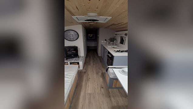 British couple are raffling old school bus converted into luxury home