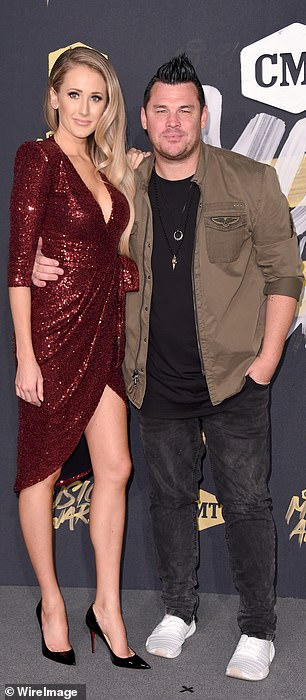 Coming soon?Dee Jay Silver's wife Jenna Perdue (above) is rumored to be involved