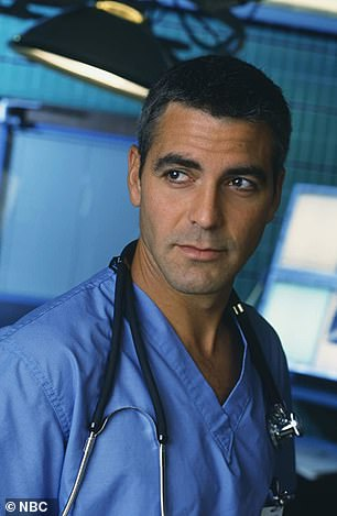 George Clooney pictured in 1996