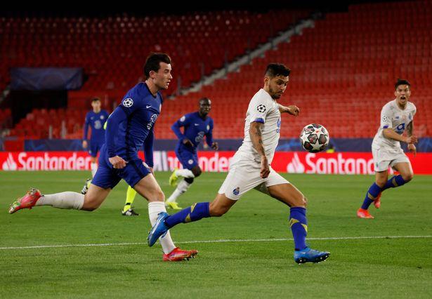 Jesus Corona missed two first-half chances