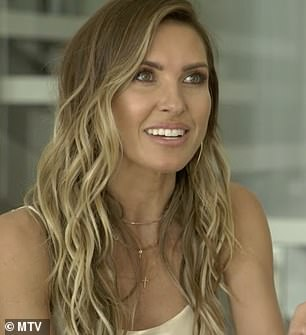 Audrina talks about dating as a single mom with pal Whitney Port, 36, over a dinner
