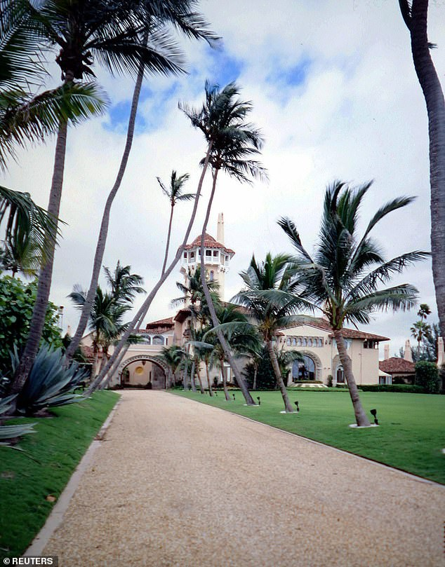 Denial: 'Contrary to media reports and rumors, Sylvester Stallone is officially not a member of the Mar-a-Lago Club,' his rep said. 'He did not join the organization, he did not pay initiation dues Mar-a-Lago in Palm Beach (seen above)