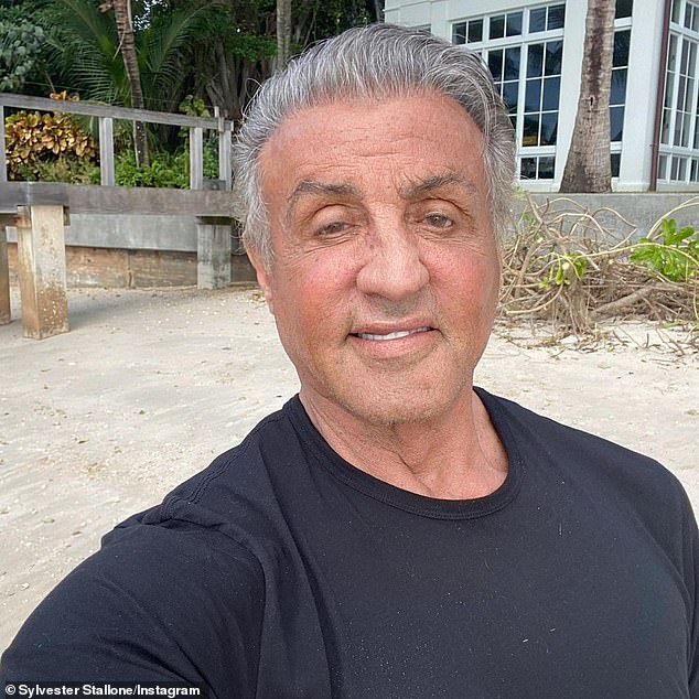 New digs: Stallone recently purchased a $35 million mansion on the north end of Palm Beach