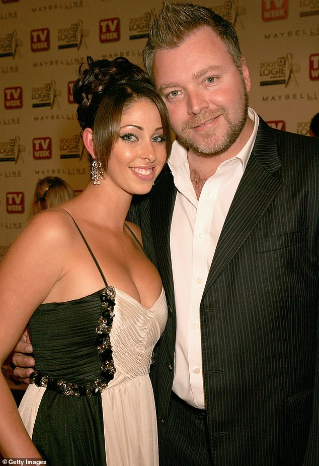 'The people have sex with, in the past and currently, it's not an issue,' Kyle said of his weight. (Pictured with ex-wife Tamara Jaber in 2007)