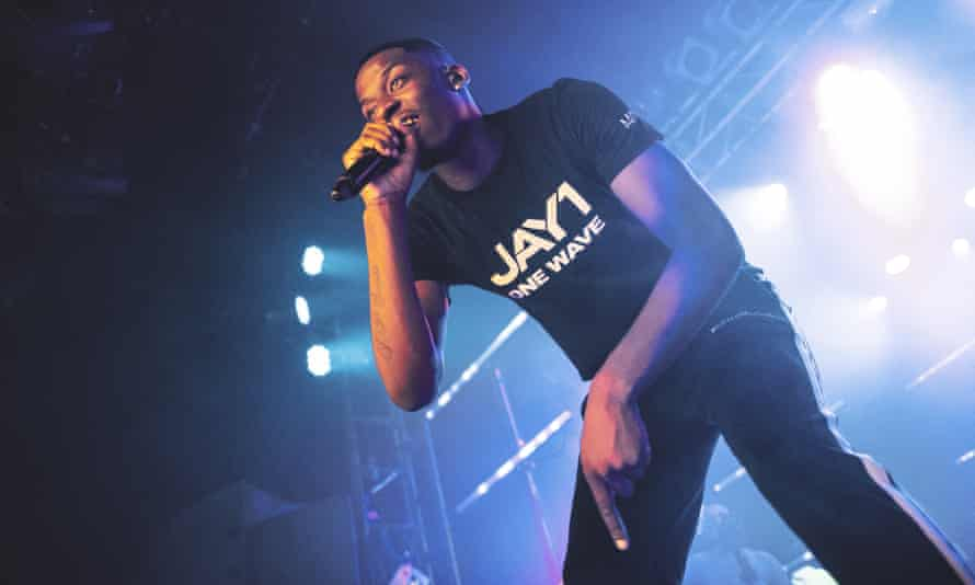 Jay1, performing at London's Electric Ballroom in September 2019; he will perform in his home city in August.