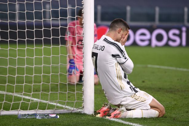 Juventus were knocked out of the Champions League by Porto in the round of 16