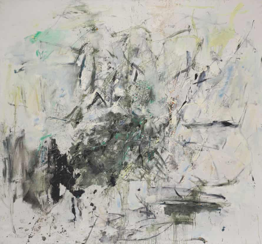 Joan Mitchell – Chamonix, about 1962.