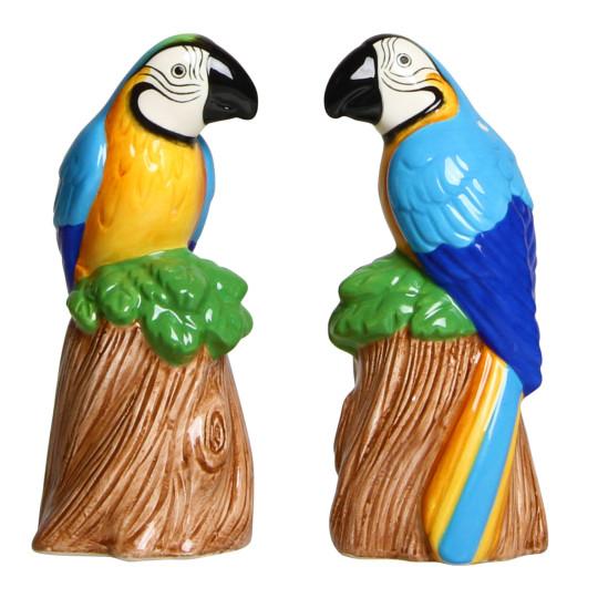 & Klevering parrot salt and pepper shaker set