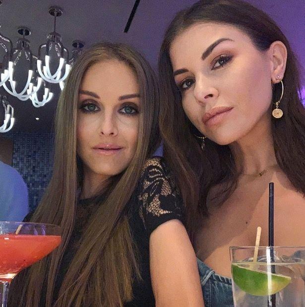 Nikki Grahame and Imogen Thomas