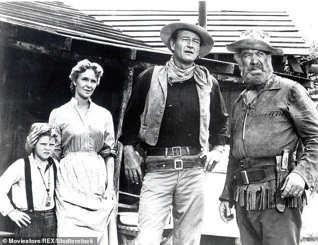 Aaker also appeared in the 1952 film The Atomic City, with Barbara Stanwyck in the 1953 film Jeopardy andwith John Wayne in the 1953 movie Hondo (pictured)