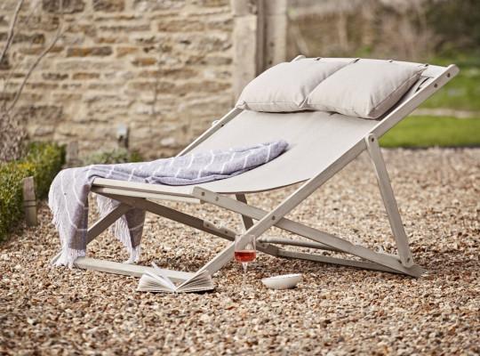 Ravenna Double Deck Chair, ?195, coxandcox.co.uk
