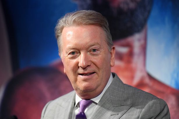 Frank Warren, Tyson Fury's promoter, is trying to tie up a deal