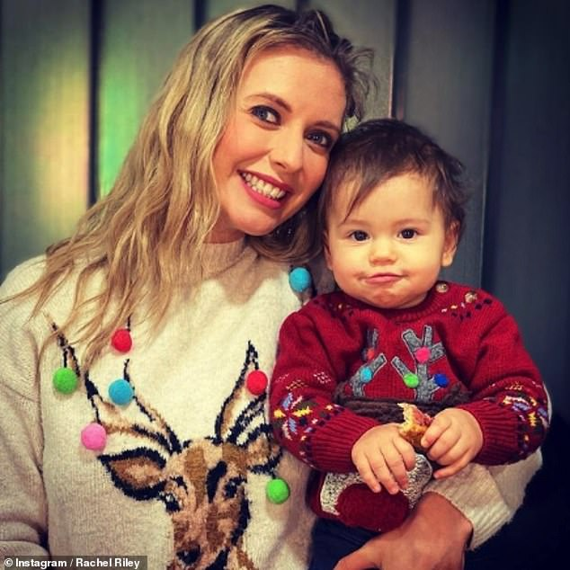Staying at home:The TV star also spoke about raising their daughter Maven throughout lockdown and expressed her sadness that she hasn't been able to go to any baby clubs