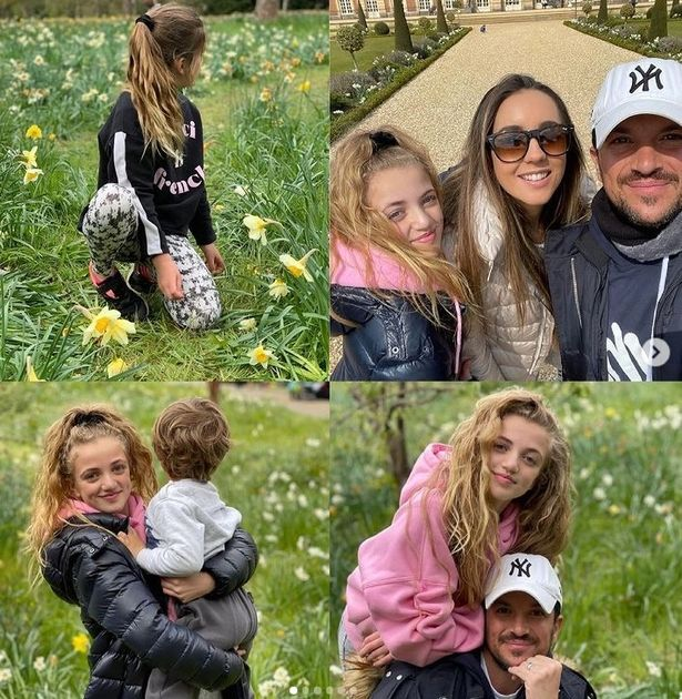 Peter Andre's wife Emily posted glowing family pictures from their day out
