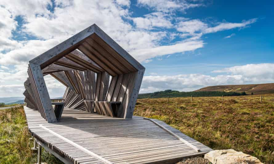 The Nick, at the highest point on the Kielder Forest Drive, Northumberland.