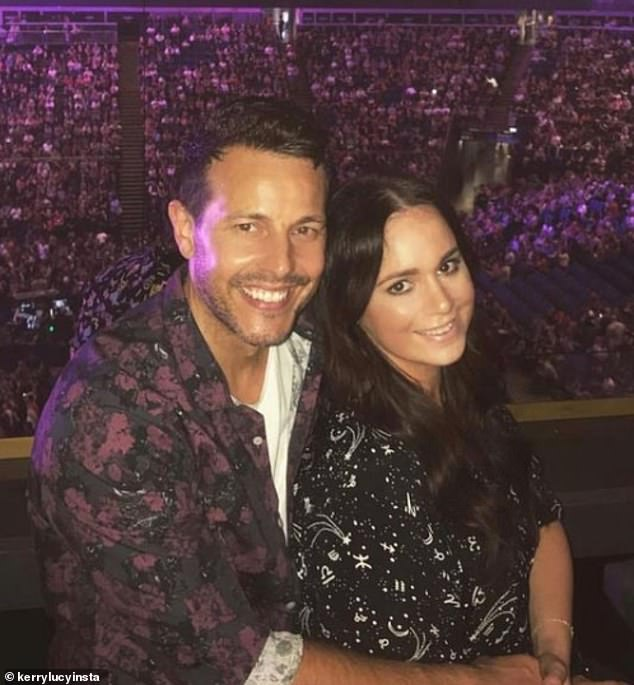 Tough time:Lee recently admitted that he and Kerry-Lucy felt 'a bit of resentment' for their friends with who were pregnant or had had babies following their miscarriage in 2018