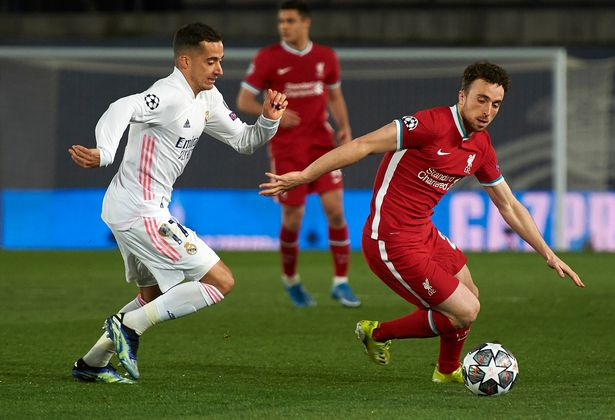 Liverpool were knocked out of the Champions League by Real Madrid