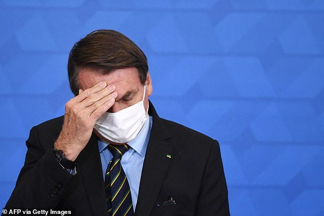 Bolsonaro has long downplayed the pandemic and defied expert advice on measures to contain it, leaving state and local authorities to implement a messy patchwork of response measures